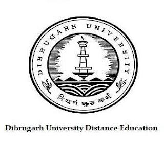 Dibrugarh University Distance Education