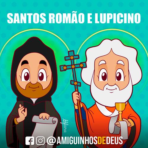 Santos Romão e Lupicino desenho