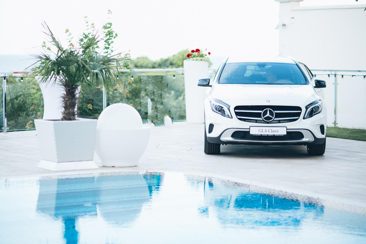 презентация и открытие Mercedes-Benz Odessa Fashion Days