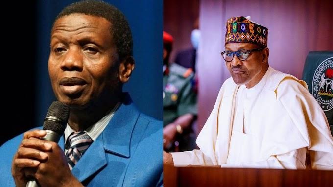 BREAKING: Buhari, Pastor Adeboye in closed door meeting