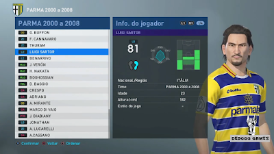 PES 2019 PS4 Classic Option File Europa 2000 by Dedog Games