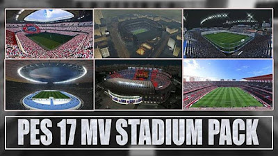 PES 2017 New MV Stadium Pack V1 + FIX