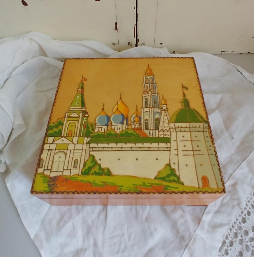 Hand painted Arabian box