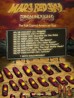 Mars Red Sky American tour 2020
