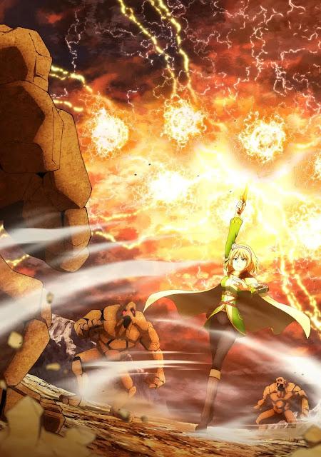 Anime 'Leadale no Daichi nite' Revela Primeiro Vídeo Promocional