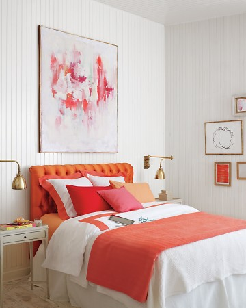cool pink orange bedroom ideas | Pink and Orange for a Girl's Bedroom - Driven by Decor