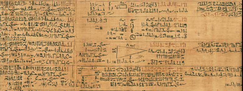 Os Papiros da Matemática Egípcia - O Papiro de Rhind ou Ahme