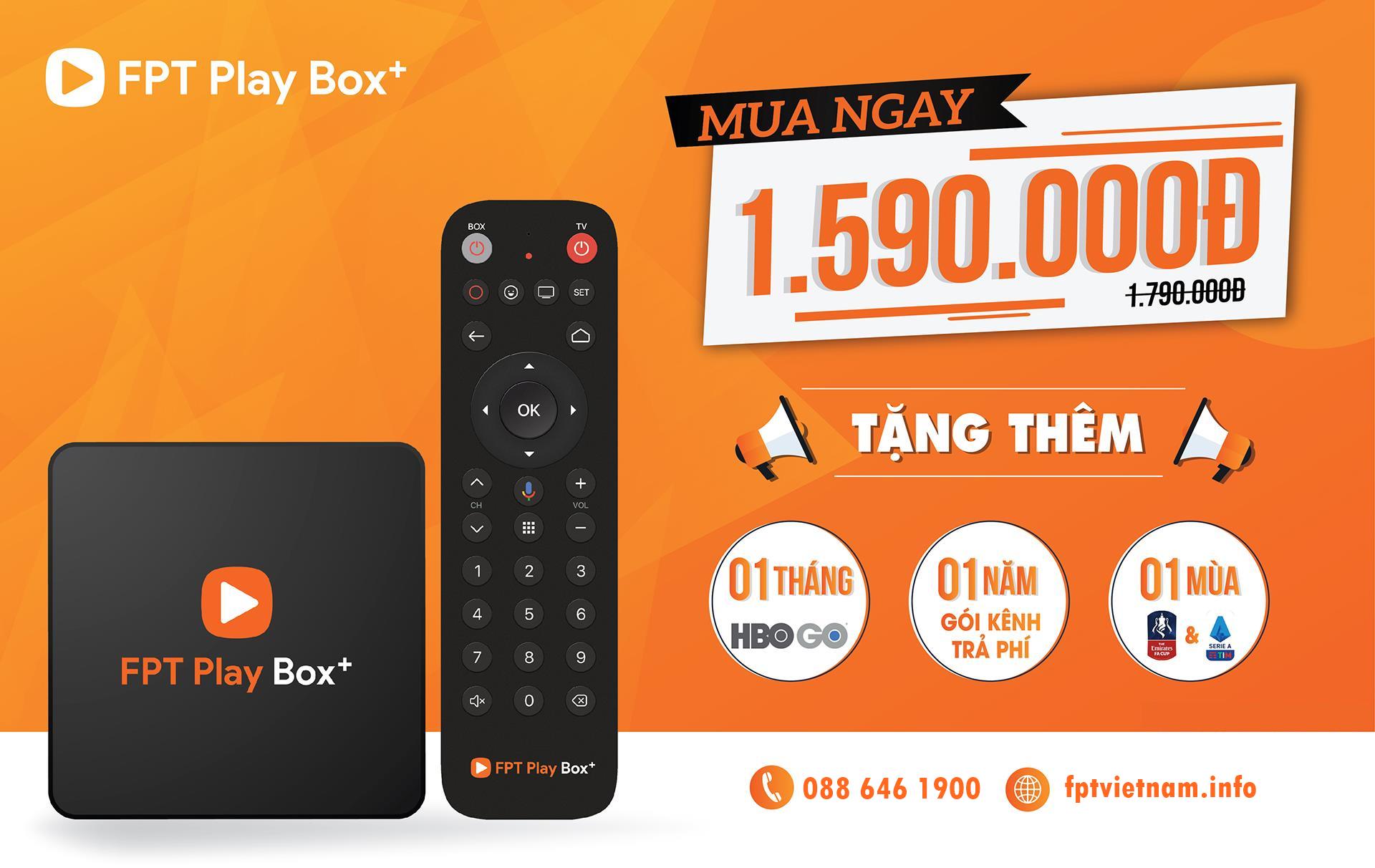 FPT Play BOX+ 2019 - Mã sản phẩm S400