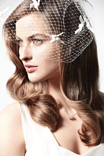 wavy hairstyles for brides