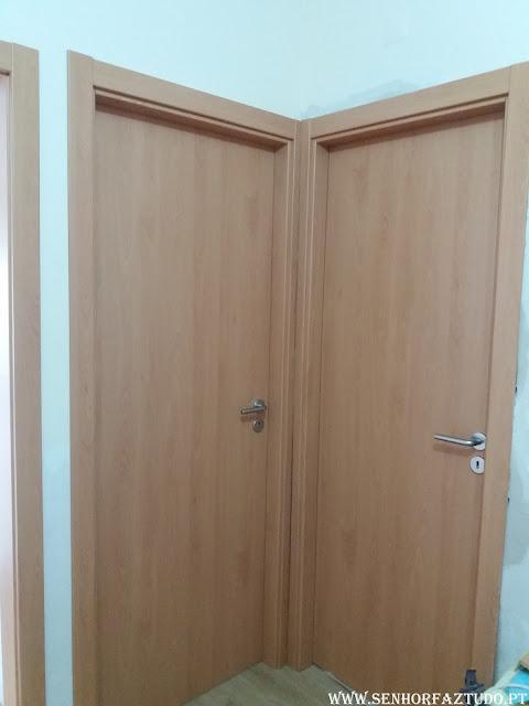 Instalação de portas e aduelas em Mem Martins