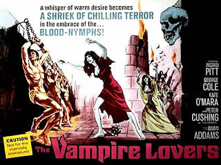 The Vampire Lovers - Peter Cushing, Ingrid Pitt - Hammer Karnstein Trilogy