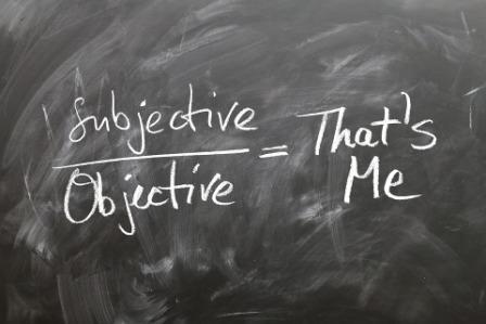 subiectiv obiectiv