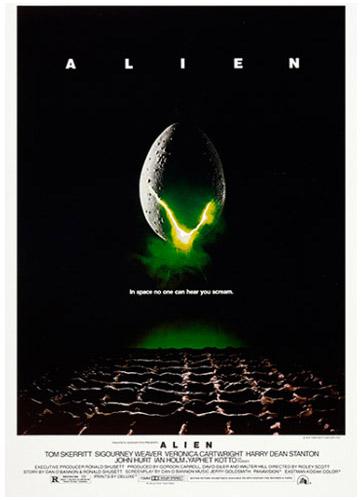 Poster Alien, el Octavo Pasajero