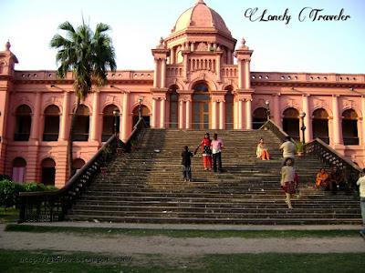 Ahsan manzil in old Dhaka