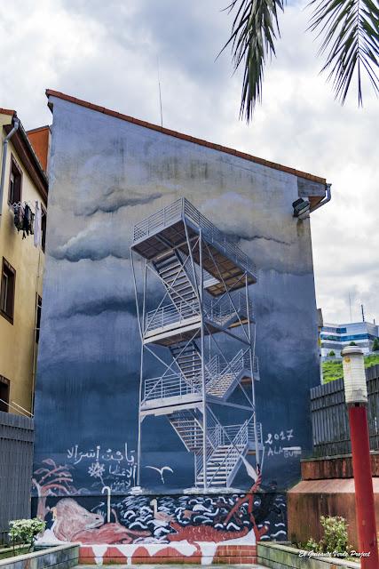Mural Sea Forts, por Michael Grudziecki - Bilbao, por El Guisante Verde Project