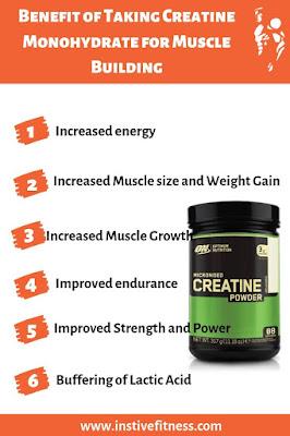 benefits of creatine monohydrate