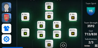 Formasi terbaik pes mobile android 2020 best formation