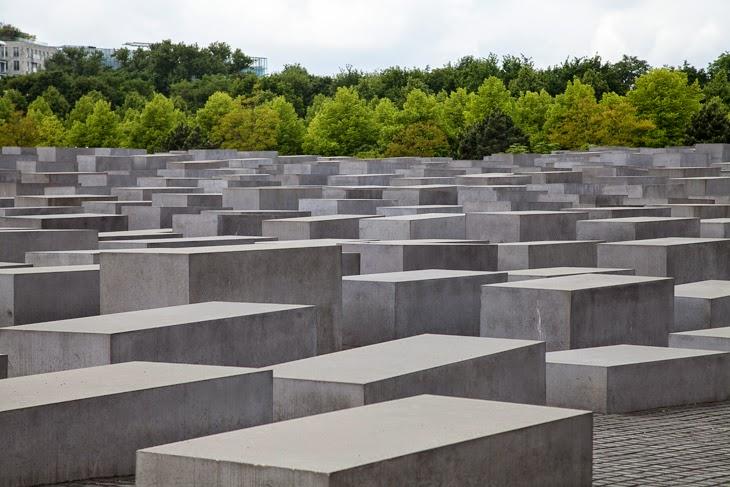 Passagem Gastronômica - Memorial to the Murdered Jews - Berlim - Alemanha