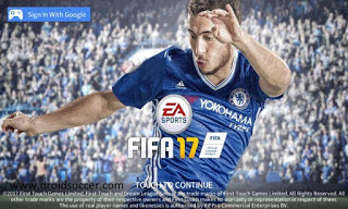 DLS17 MOD FIFA17 by Alan Iksan Apk + OBB Data