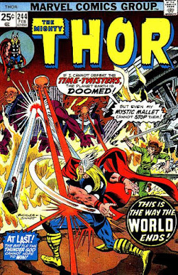 Mighty Thor #244, the Time-Twisters