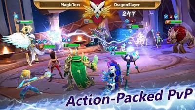 تحميل لعبة  Might and Magic APK النسخة المهكرة للاجهزة الاندرويد