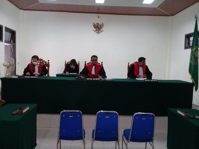 Sidang Pembongkaran Kebun Sawit: Keseluruhan Eksepsi Pihak PT ABCDitolak oleh Majelis Hakim