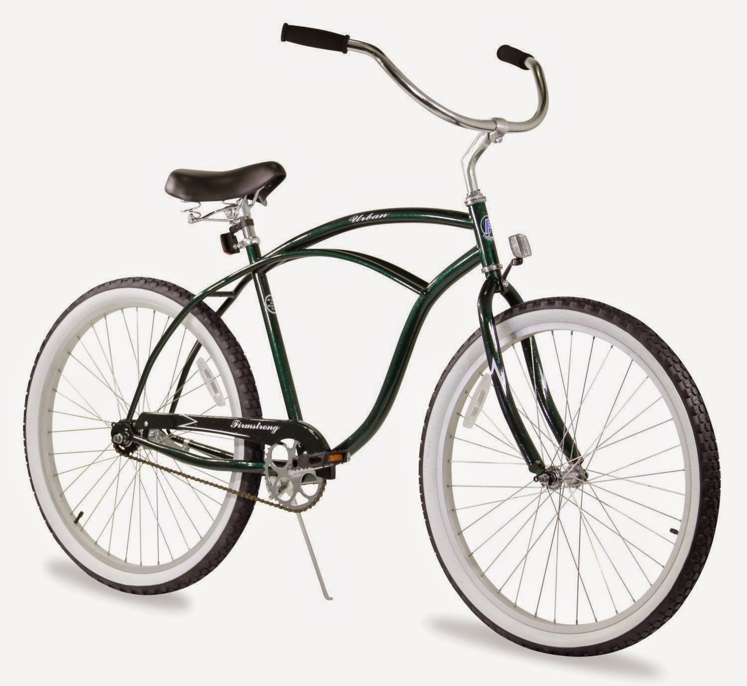 "Firmstrong Urban Man Single Speed - Men's 26"" Beach Cruiser Bike, picture, image, review features & specifications, compare with 3-speed and 7-speed versions"