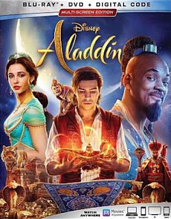 Aladdin (2019) Blu-ray box art