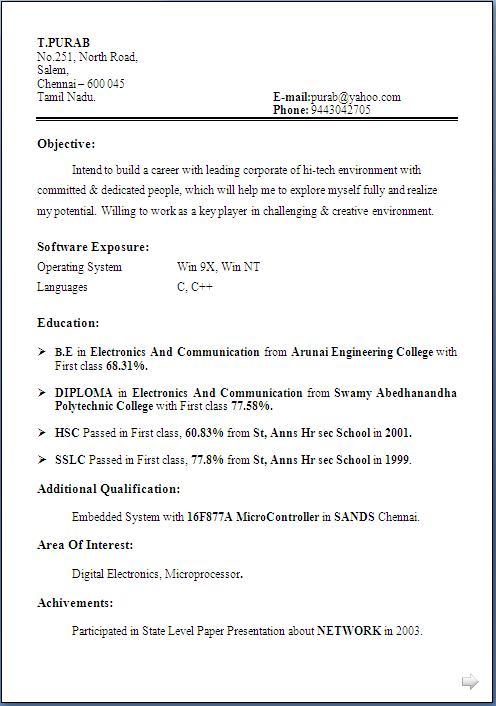 world best resume resume sample