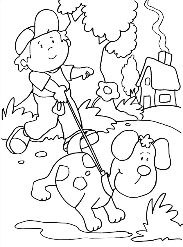 Dogs coloring pages 92
