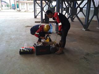 Kulpro ( kuli proyek ) pengerjaan TPA tercanggih di Sumatra ( jambi )