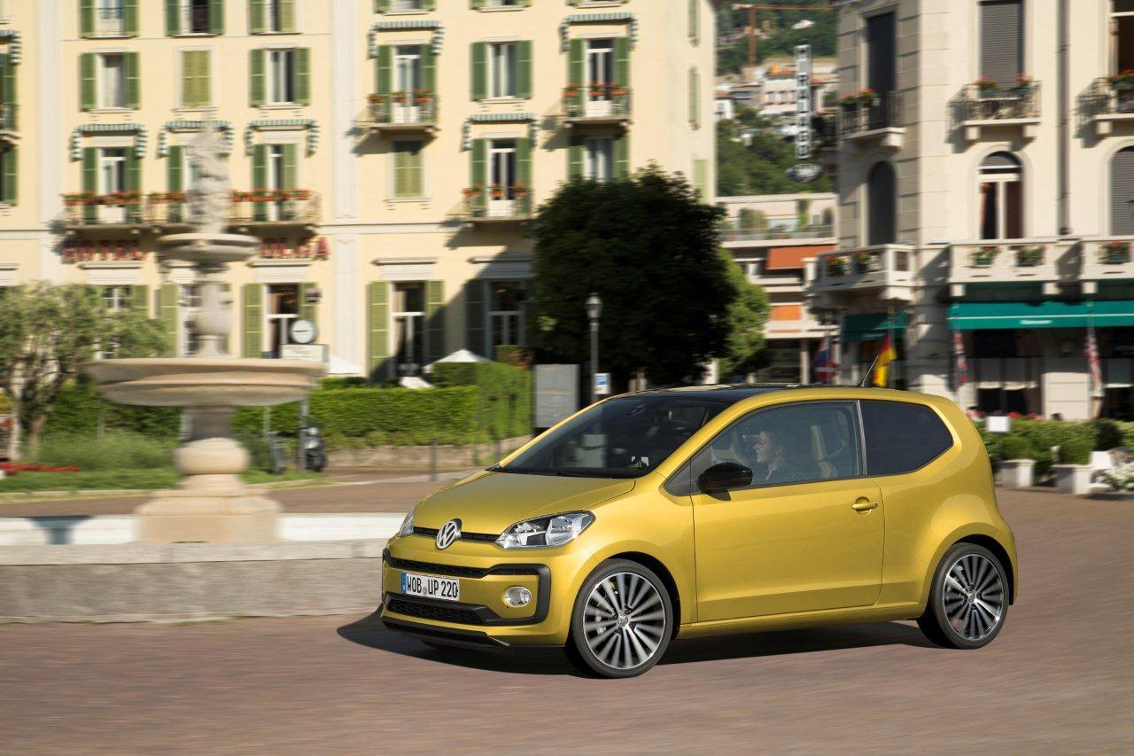 Νέος κινητήρας TSI για το Volkswagen up!  Η λιανική τιμή του up! TSI ξεκινάει από 11.730€