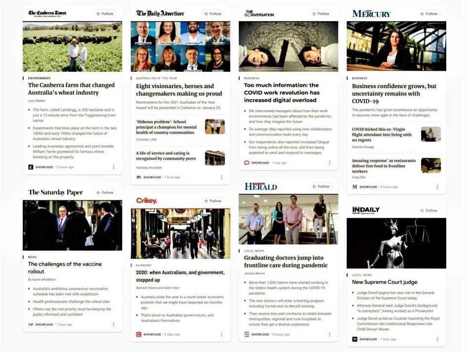 Google Meluncurkan Pameran Berita di Australia di tengah Sengketa Undang-undang