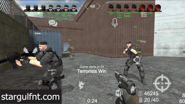 تحميل لعبة Brutal Strike - Counter Strike Brutal - CS GO للأندرويد