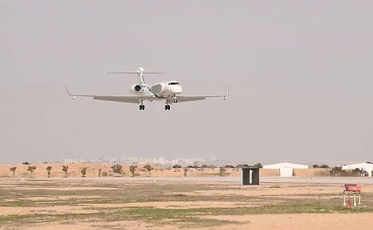 Israel operates a new spy plane