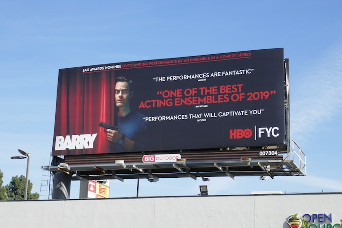 Bill Hader Barry season 2 SAG Awards nominee billboard