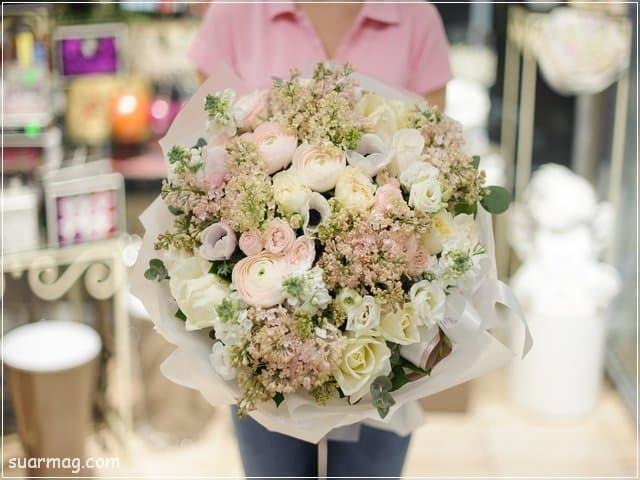 اجمل بوكيه ورد 17   best flowers bouquet 17