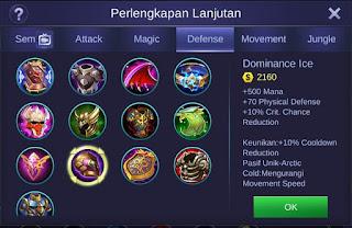Dominance Ice Mobile Legends