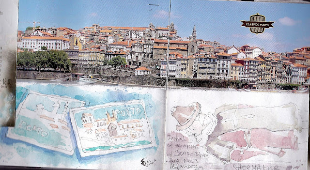 Portugal, Porto sketchbook