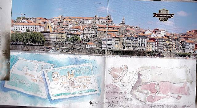 Portugal, Porto sketchbook