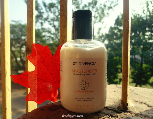 St. D'vence Moisturizer Ultra-Enriching Body Lotion Autumn Edition : Review | Body Lotion for Dry to Extra Dry skin