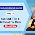 21 Days | 21 Free All India Mocks Challenge- Attempt SSC CGL Tier-1 Mock @1PM