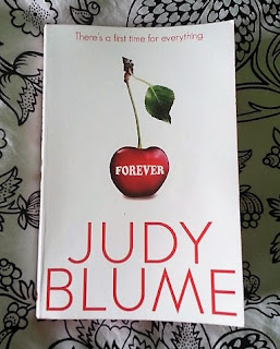 A photograph of the cover of Judy Blume's Forever.