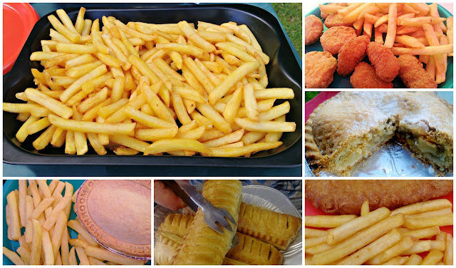 A selection of food from the Forest Glade takeaway