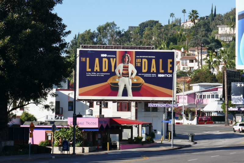 Lady and the Dale HBO series billboard