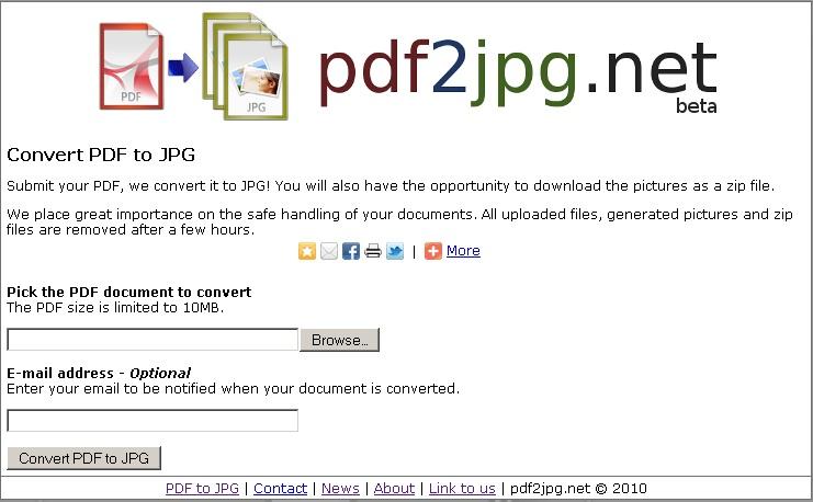 Pdf2jpg net – Convert PDF to JPG Online – Must See on Net