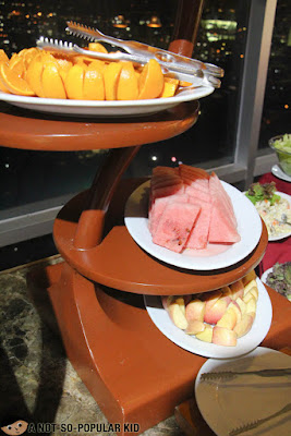 Fresh fruits of Sparkz Buffet in Cebu
