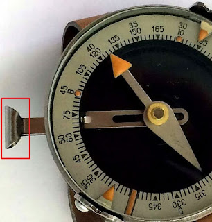 Арретир на магнитном компасе