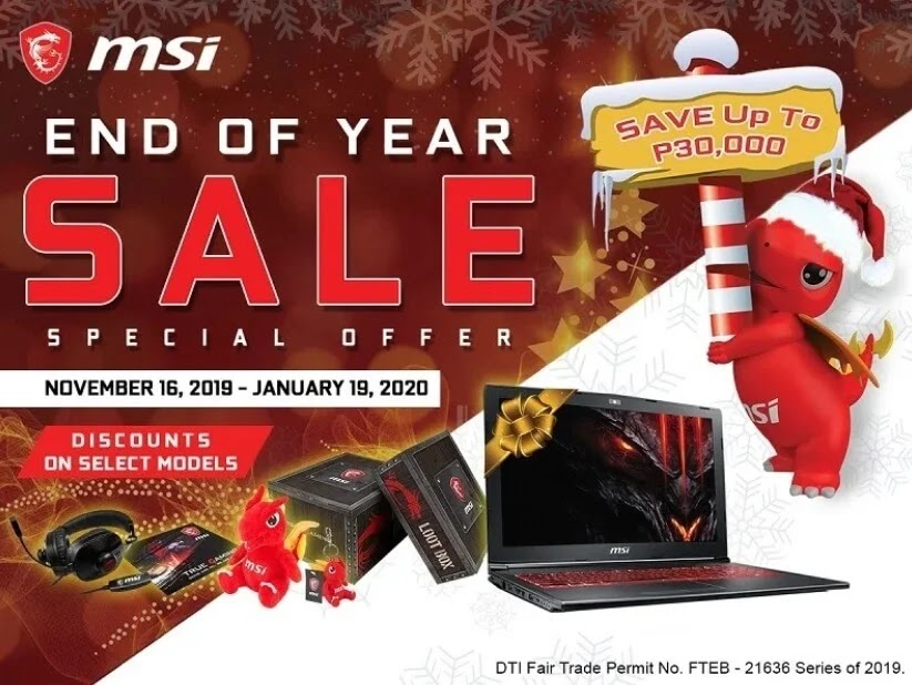 It's Not Too Late To Catch MSI's Year-End Sale!
