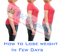 How to Lose weight In Few Days